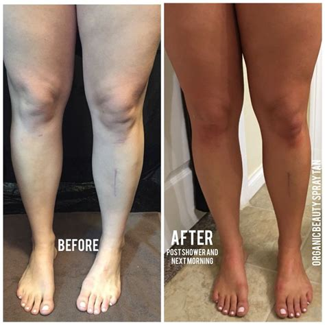 tanning bed before and after before and after tan organic tan pinterest tans