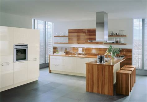küchen fotos k 252 che holz und weiss