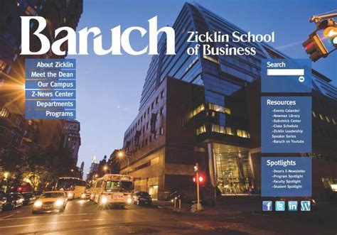 Baruch College Ranking Mba by Zicklin To Hold Info Session For Healthcare Mba Metromba