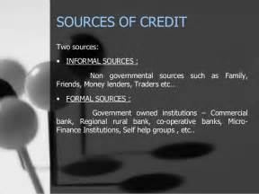 Formal Sources Of Credit In India The Farmers Development In Credit Structure Vis 224 Vis Indian