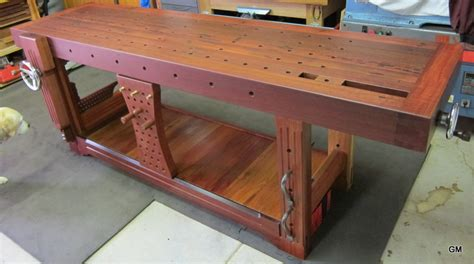 best wood for bench groggy s roubo workbench page 16 talkfestool