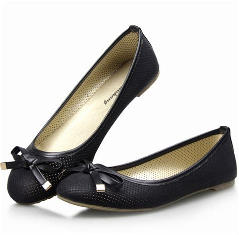 black flat womens shoes aliexpress buy 2015 new eur 35 41 pu sweety dress