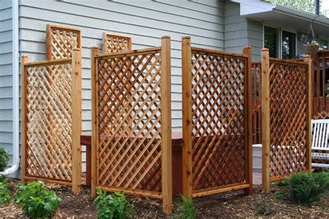 Trellis Fence Panels Privacy Pdf Lattice Screens For Privacy Plans Free