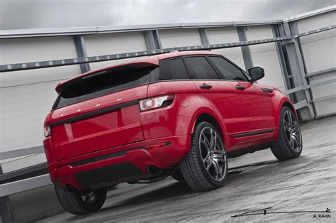 land rover kahn 2012 kahn range rover evoque red