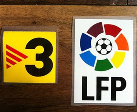 La Liga Lfp Badge 2004 Present Badges tv3 lfp kit league la liga espa 241 ola badge parche logo toppa