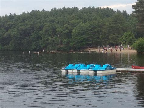 boating in boston lake cochituate cochituate state park natick ma take a day trip