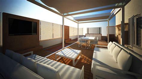 arredi terrazzo arredi terrazzo design moderno con pavimenti in bianco e
