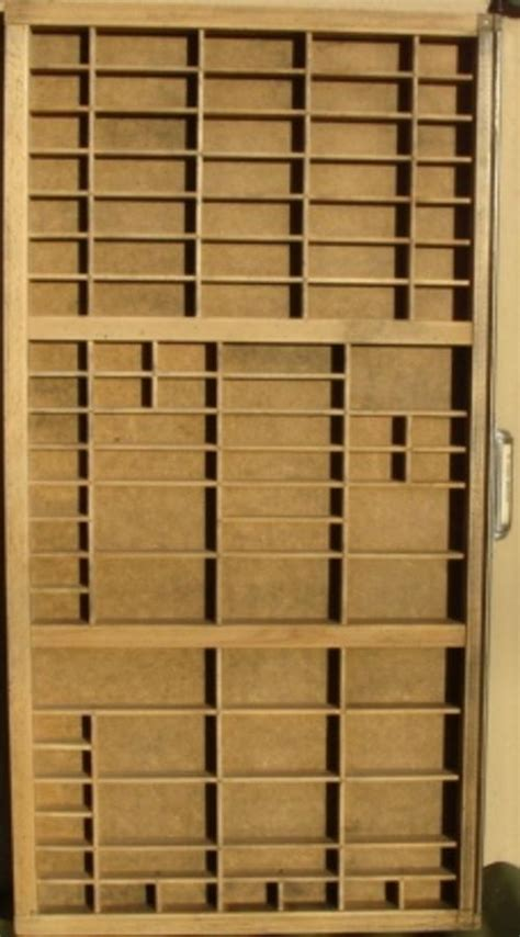 Printers Drawer For Sale by For Sale Antique Printer S Tray Shadow Box
