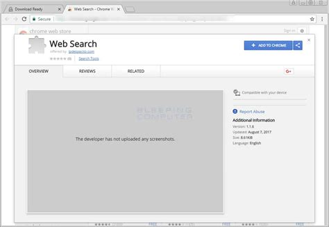 Search Yahoo Address Remove The Web Search Chrome Extension