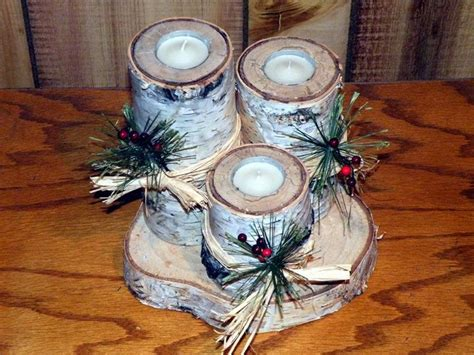 photo gallery rustic woodworking christmas candle