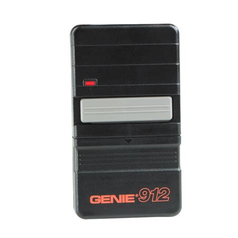 Garage Door Opener Remote At Lowes Shop Genie 1 Button Genie Compatible Visor Garage Door