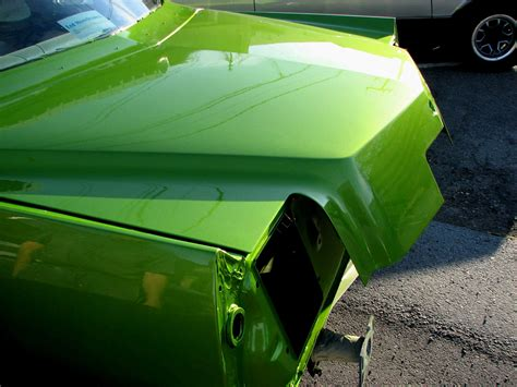 green car paint colors