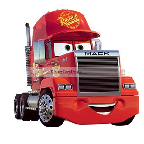 Home Decor Ebay 10 Quot Mack Truck Disney Pixar Cars Removable Wall Decal