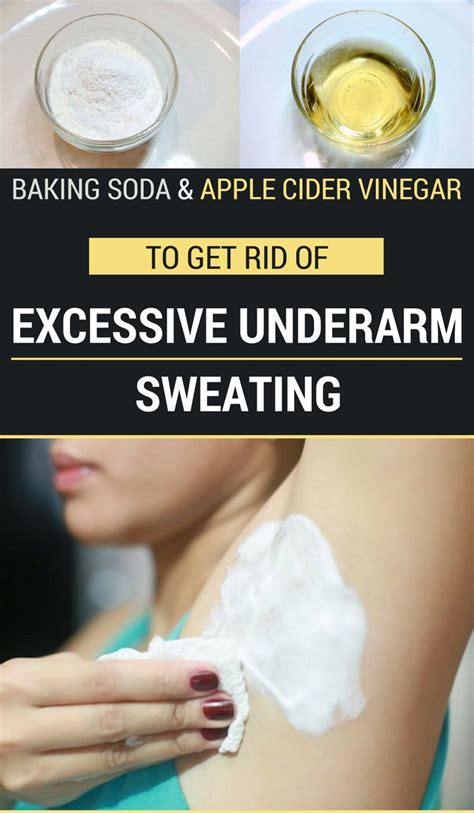 Detox Armpits Baking Soda by The 25 Best Excessive Sweating Ideas On