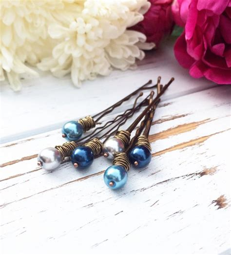 Decorative Bobby Pins by Blue Pearl Bobby Pin Beaded Hair Pin For Wedding