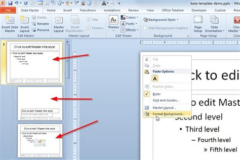 creating a template in powerpoint 2010 how to create template for powerpoint reboc info