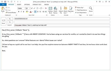 Use Email Template Outlook 2013 by Creating An Email Template In Outlook Gzhelper