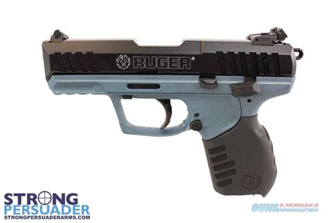ruger sr22 colors ruger sr22 titanium blue black anodized for sale