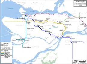 Vancouver Subway Map by Similiar Vancouver Transit Map Keywords