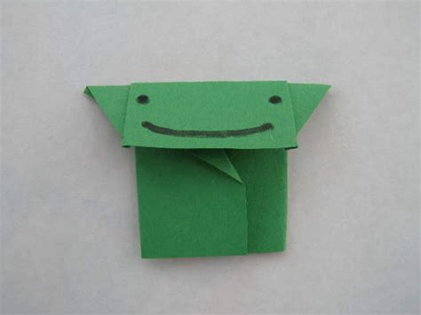 Origami Yoda Finger Puppet - folding your own origami yoda other wars papercraft