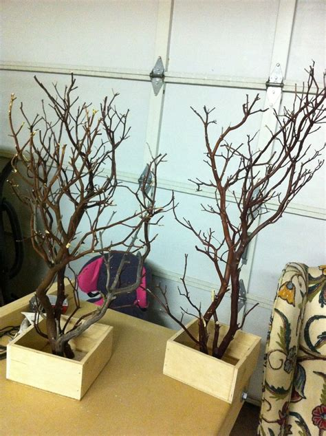 black manzanita tree centerpieces best 25 tree centerpieces ideas on