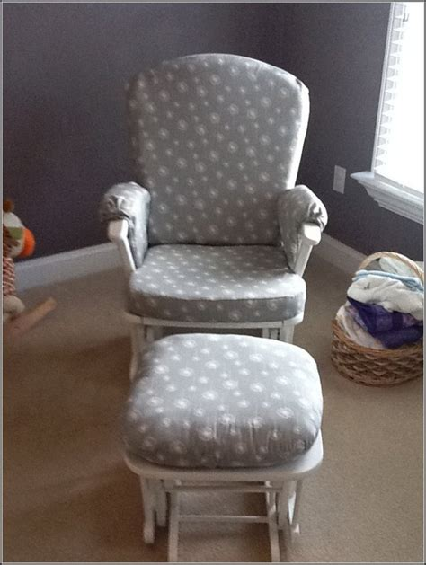 glider and ottoman covers nursery rocking chair a great furniture for nursery