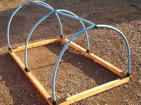 Raised Garden Bed Covers - mini polytunnel frame kit only