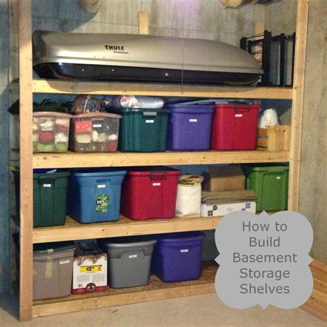 basement storage shelves how to build basement storage shelves the ready s home