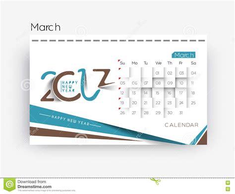 calendar design elements happy new year 2017 calendar design elements stock vector