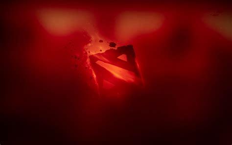 dota 2 red wallpaper dota 2 red logo 1n wallpaper hd