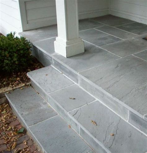 bluestone brick front entrance steps masonry patios what about a lovely blue stone front stoop and the facade