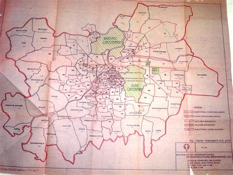 city map of pune pune city map