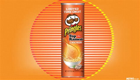 Sale Kaos Mr Pringles ramen chicken flavored pringles now for sale