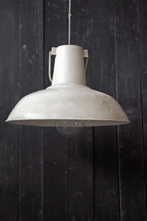 Large Ceiling Light Shades Large Vintage Ceiling L Shades White Distressed Metal