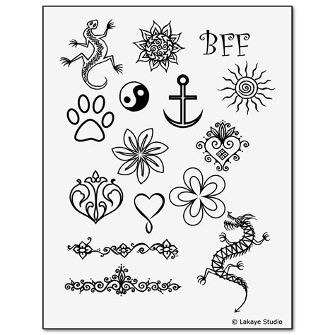 temporary tattoo stencils henna painting kit children s designs
