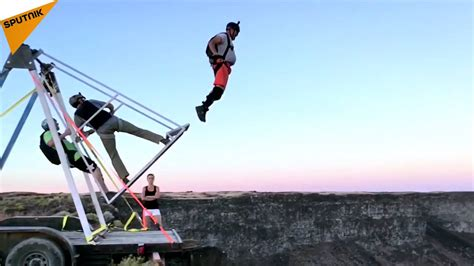 russian swing russian swing base jumping