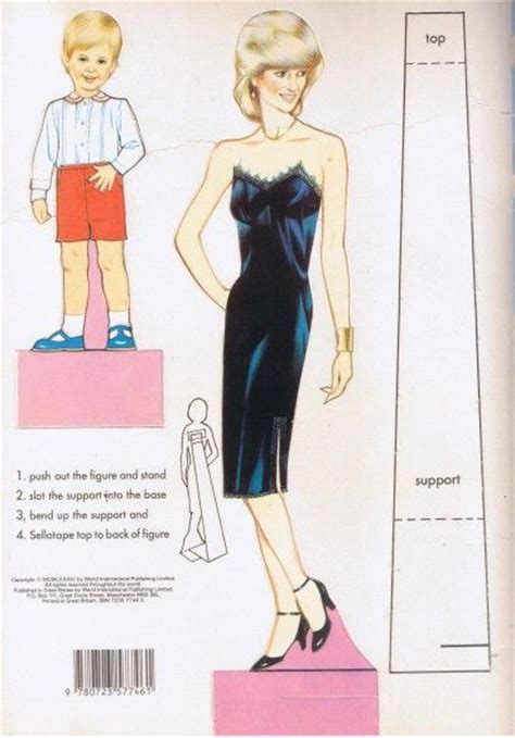 fashion doll collection book 2 blue princess diana fashion collection dressing book 2