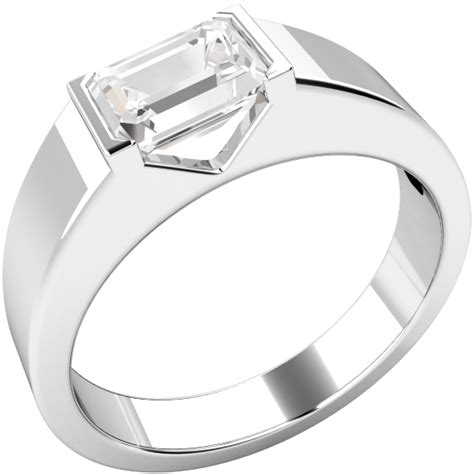 single band engagement rings single engagement ring for in platinum with an
