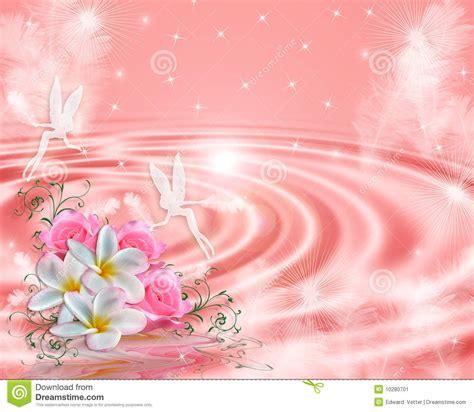 imagenes hadas blancas fondo floral del color de rosa de hadas de la fantas 237 a