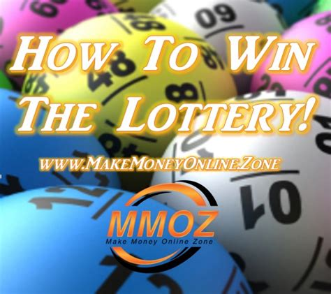 How To Win Some Money On The Lottery - how to win the lottery the make money online zone