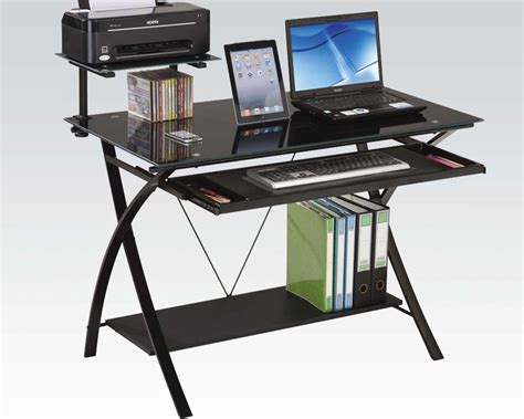 acme furniture black computer desk ac92078
