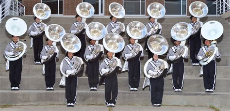 sections of a marching band tcb sousaphone
