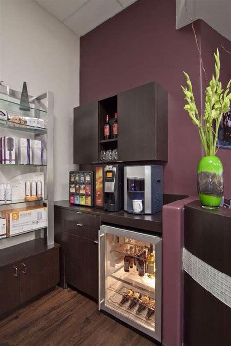 refreshment area  salon area beauty salon decor salon