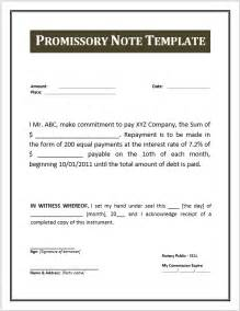 promissory note template pdf 43 free promissory note sles templates ms word and