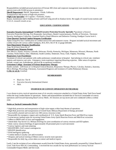 Respiratory Therapist Resume by Best Respiratory Therapist Resume Template Page 3