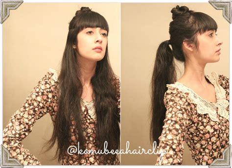 tutorial rambut untuk kebaya kanubeea hair clip tilan anggun dengan sanggul cantik
