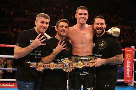 Smith Brothers by The Smith Brothers Are A Fantastic Fighting Family Callum Smith Is The Best Of A Great Bunch