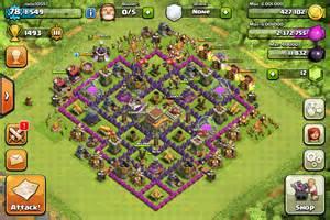 Clans ideas clans bases clans th8 clash of clans hyrum s mindcraft