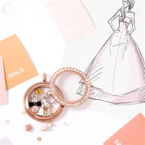 Origami Owl Wedding Locket - origami owl at storied charms