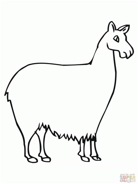 llama llama red pajama coloring page az coloring pages